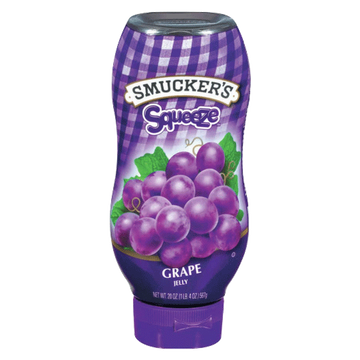 Smucker's Fruit Jelly Spread, Grape Jam, 20oz