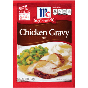 McCormick Chicken Gravy Mix, 0.87 oz