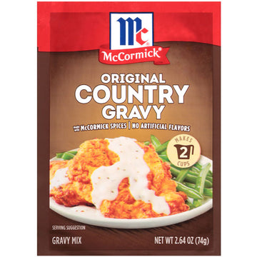 McCormick Original Country Gravy Mix, 2.64 oz