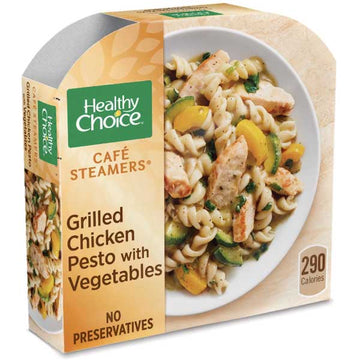 Healthy Choice Grilled Chicken Pesto with Vegetables, 9.9 oz
