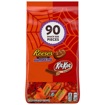 Halloween Candy Assortment Lovers Snack Size, 90 Count