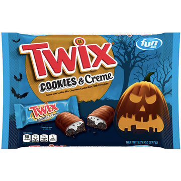 Twix Cookies and Creme Halloween, 9.77 oz