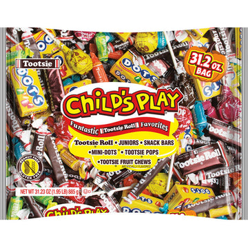 Child's Play Halloween Assorted Candy, 31.2 Oz. Bag