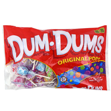 Dum Dum Pops in Original Flavors, 12.5 Oz. Bag