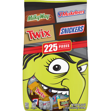 Halloween Candy Variety Pack, 225 Count