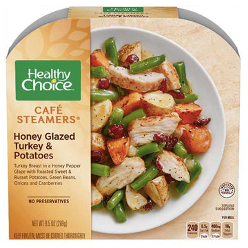Healthy Choice Honey Glazed Turkey & Potatoes, 9.5 oz