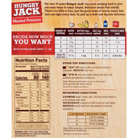 Hungry Jack Mashed Potatoes, Family Size 26.7 oz - Water Butlers