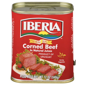 Iberia Corned Beef in Natural Juices, 12 oz