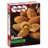 TGI Fridays Cheddar Cheese Stuffed Jalapeno Poppers, 15 oz - Water Butlers