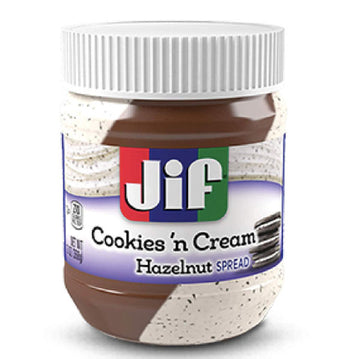 Jif Cookies 'n Cream Hazelnut Spread, 13 Oz