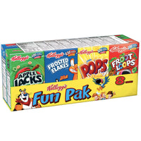 Kellogg's Fun Pack Breakfast Cereal, 8 Ct - Water Butlers