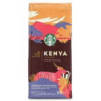 Starbucks Premium Select Collection, Kenya Medium Roast Coffee, Whole Bean, 9 oz - Water Butlers