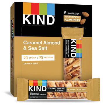 KIND Bars, Caramel Almond & Sea Salt, 6 Count