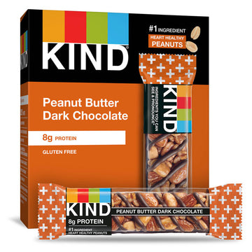 KIND Bars, Peanut Butter & Dark Chocolate Bars, 6 Count