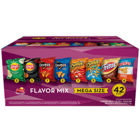 Frito Lay Flavor Mix Mega Size Variety Pack, 42 Bags