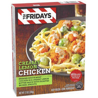 TGI Fridays Creamy Lemon Chicken, 12 oz - Water Butlers