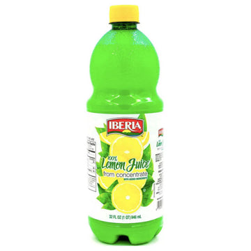 Iberia Lemon Juice from Concentrate, 32 fl oz
