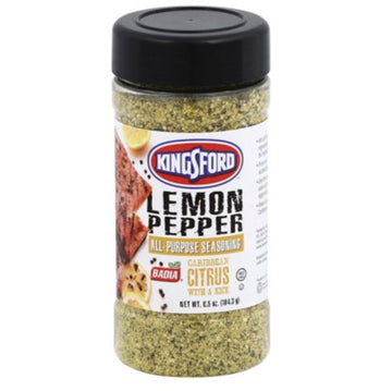 Badia Kingsford Lemon Pepper Seasoning, 6.5 oz