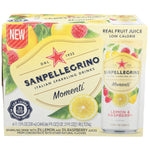 Sanpellegrino Momenti Lemon Raspberry, 11.15 Fl Oz. 6 Ct - Water Butlers