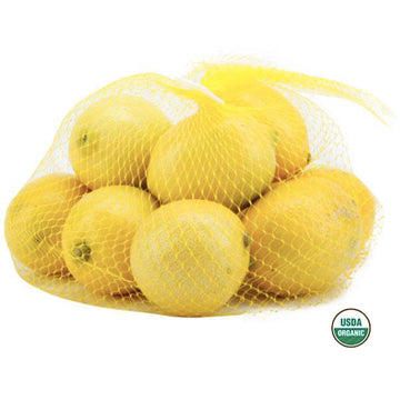 Fresh Organic Lemons, 2 Lb. bag