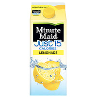 Minute Maid Just 15 Calories Lemonade, 59 Fl. Oz. - Water Butlers