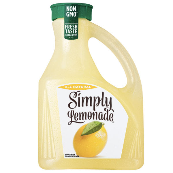 Simply All Natural Lemonade, 89 fl Oz - Water Butlers