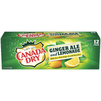 Canada Dry Ginger Ale & Lemonade - 12 Ct - Water Butlers