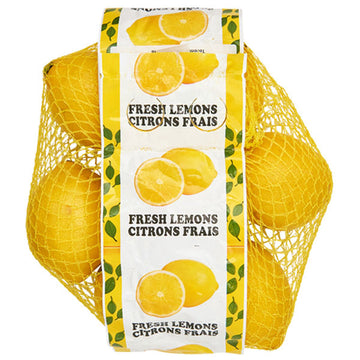 Fresh Lemons, 2 Lb. bag