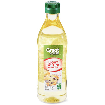 Great Value Light Tasting Olive Oil, 17 fl oz