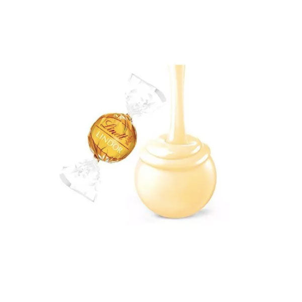 Lindt Lindor White Chocolate Truffles, 8.5 Oz. - Water Butlers