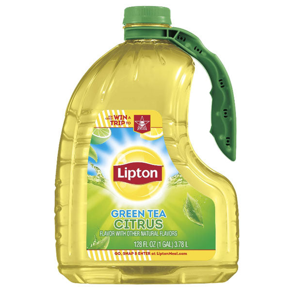 Lipton Green Tea, Citrus, 1 Gallon - Water Butlers