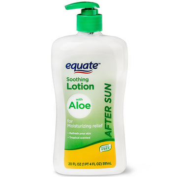 Equate Soothing After Sun Lotion with Aloe, 20 fl oz