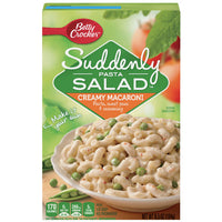 Betty Crocker Suddenly Pasta Salad Creamy Macaroni, 6.5 oz - Water Butlers