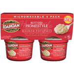 Idahoan Buttery Homestyle Mashed Potatoes 1.5 oz, 4 Ct - Water Butlers