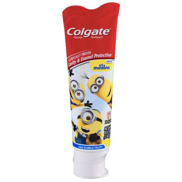 Colgate Kids Toothpaste with Anticavity Fluoride, Minions, 4.6oz - Water Butlers