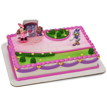 Disney Minnie Mouse Happy Helpers Birthday Cake