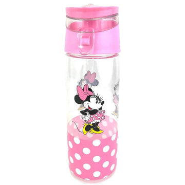 Disney Minnie Mouse Water Bottle - Pink Polka Dot, 18 oz