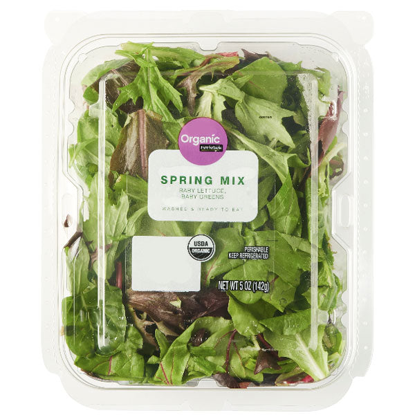 Marketside Organic Spring Mix Salad, 5 oz - Water Butlers
