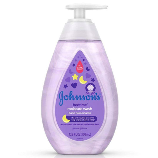 Johnson's Baby Bedtime Moisture Wash 13.6 fl. oz - Water Butlers
