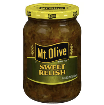 Mt. Olive Sweet Relish, 16 fl oz