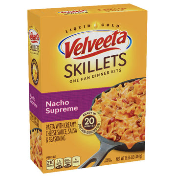 Velveeta Skillets Nacho Supreme Dinner Kit, 15.6 oz