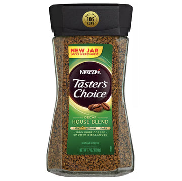 Nescafé Taster's Choice House Blend Light Roast Coffee, 7 oz