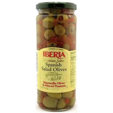 Iberia Premium Select Spanish Salad Olives, 7 oz