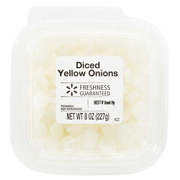 Freshness Guaranteed Diced Yellow Onions, 8 oz