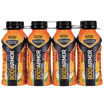 BodyArmor Sports Drink, Orange Mango, 12 Fl. oz. 8 Ct