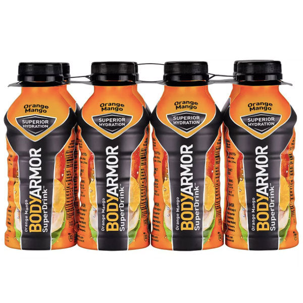 BodyArmor Sports Drink, Orange Mango, 12 Fl. oz. 8 Ct - Water Butlers