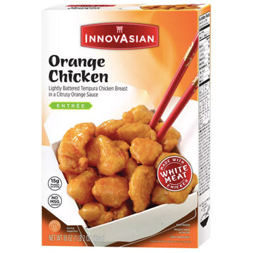 InnovAsian Orange Frozen Chicken, 18oz