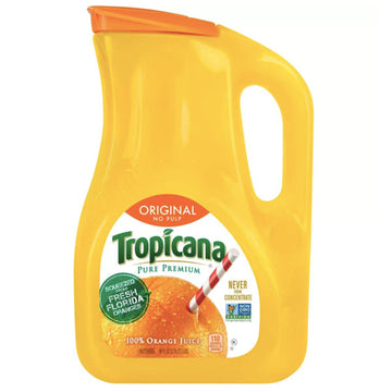 Tropicana Original No Pulp Orange Juice 89oz