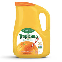 Tropicana Homestyle, Some Pulp Orange Juice 89 oz. - Water Butlers