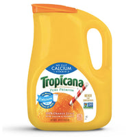 Tropicana, Orange Juice with Calcium + Vitamin D, No Pulp, 89 oz - Water Butlers